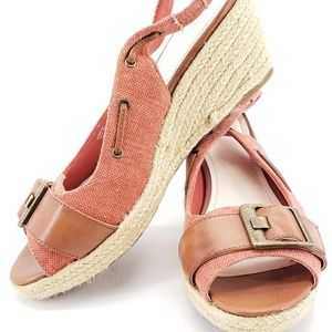 Reba Admire Wedge Sandals Heels